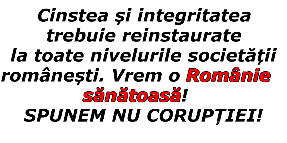 Imagini de Ziua Internațională Anticorupție - SPUNEM NU CORUPȚIEI! - mesajeurarifelicitari.com