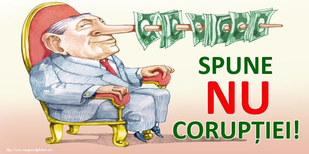 Imagini de Ziua Internațională Anticorupție - SPUNE NU CORUPȚIEI!