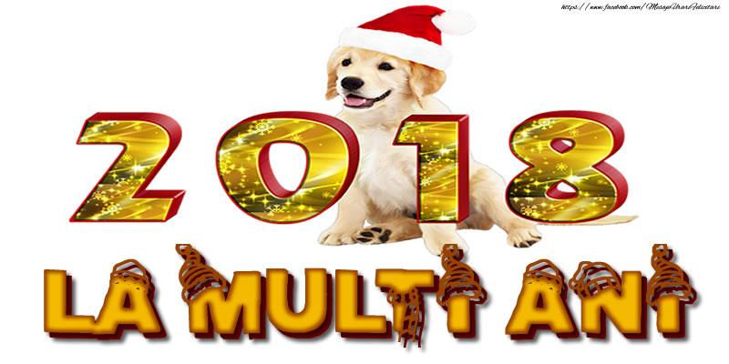 Felicitari de Anul Nou - 2018 LA MULTI ANI - mesajeurarifelicitari.com