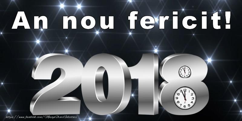 An nou fericit 2018!