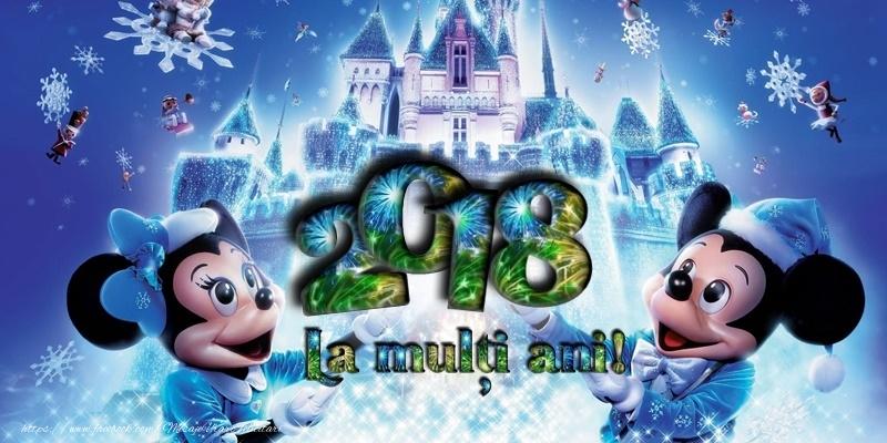 Felicitari de Anul Nou - La multi ani 2018! - mesajeurarifelicitari.com