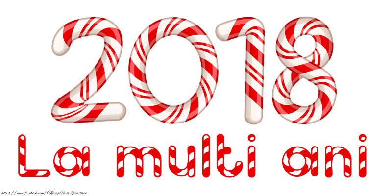 Felicitari de Anul Nou - 2018 - La multi ani! - mesajeurarifelicitari.com