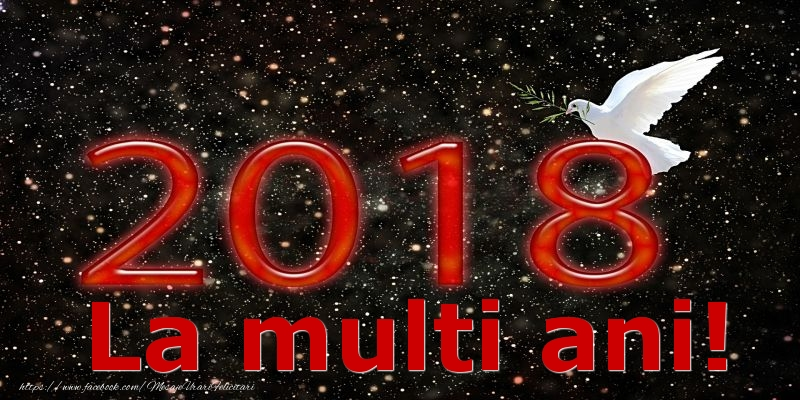 Cele mai noi felicitari de Anul Nou 2018