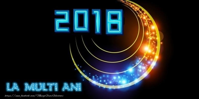 Felicitari de Anul Nou - La multi ani 2018!
