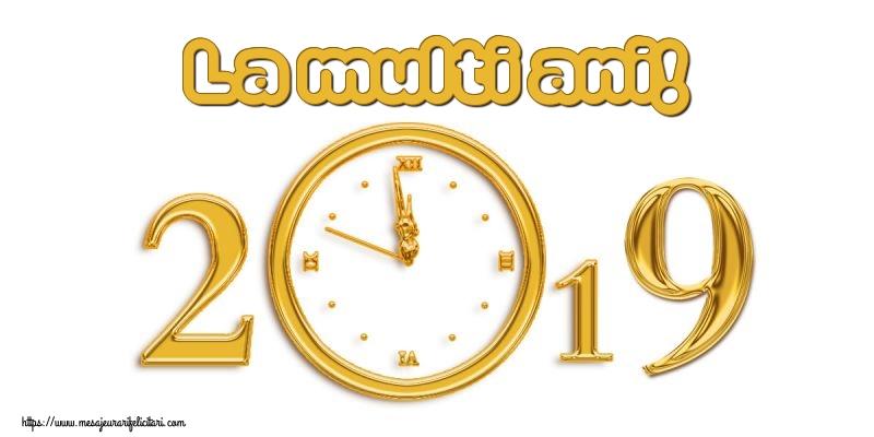 Felicitari de Anul Nou - La multi ani!