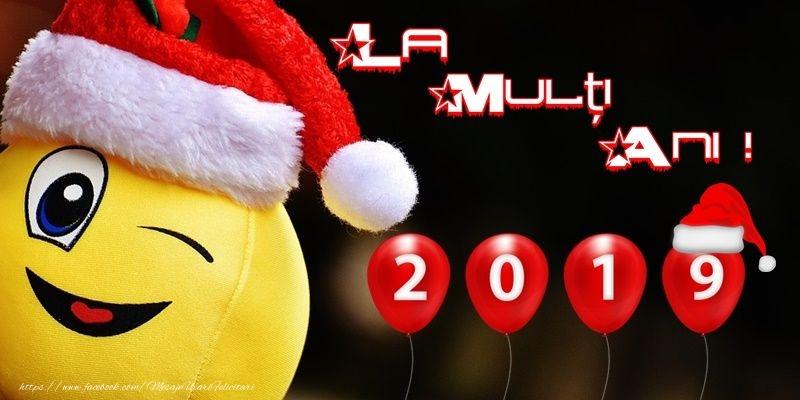 Felicitari de Anul Nou - La multi ani 2019!