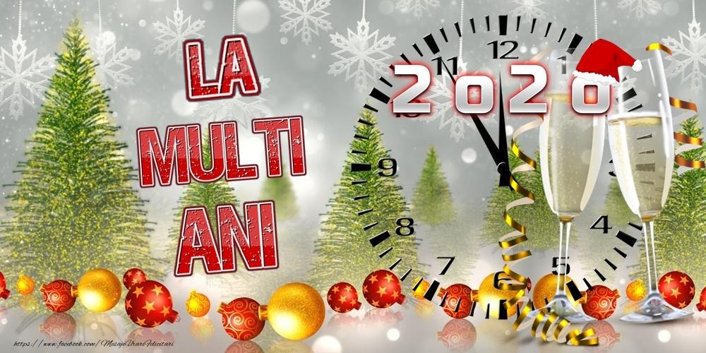 Felicitari de Anul Nou - La mulți ani 2020!