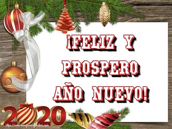 Felicitari de Anul Nou in Spaniola - ¡Feliz y prospero Año nuevo!