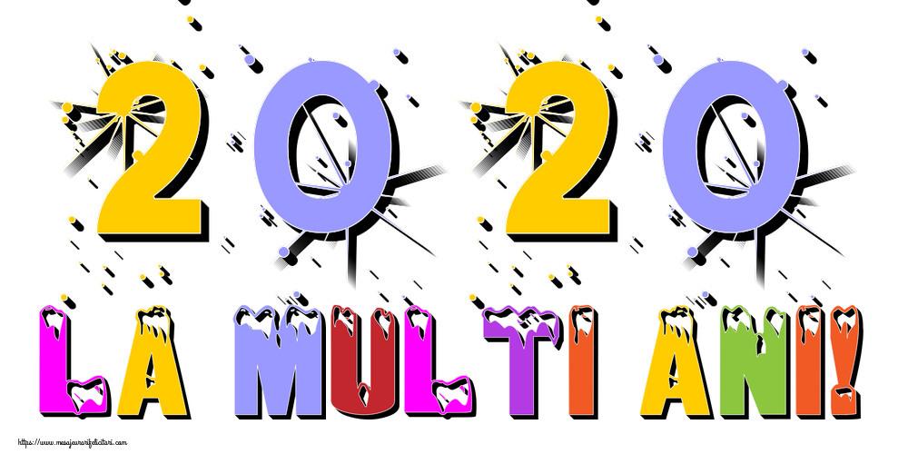 Cele mai apreciate felicitari de Anul Nou - La multi ani!