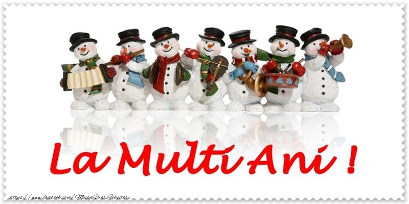 Felicitari de Anul Nou - La multi ani! - mesajeurarifelicitari.com