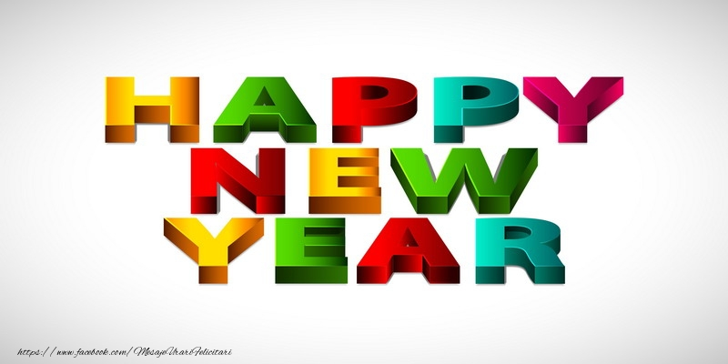 Felicitari de Anul Nou in Engleza - Happy New Year!