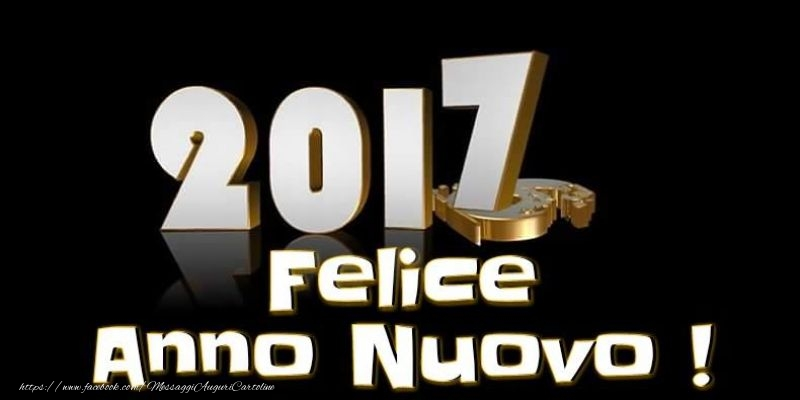Felicitari de Anul Nou in Italiana - Buon Anno 2017!
