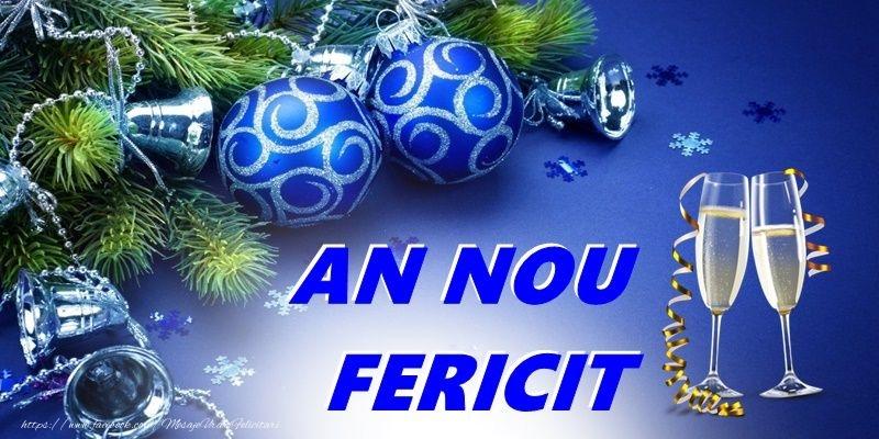 Anul Nou An nou fericit!