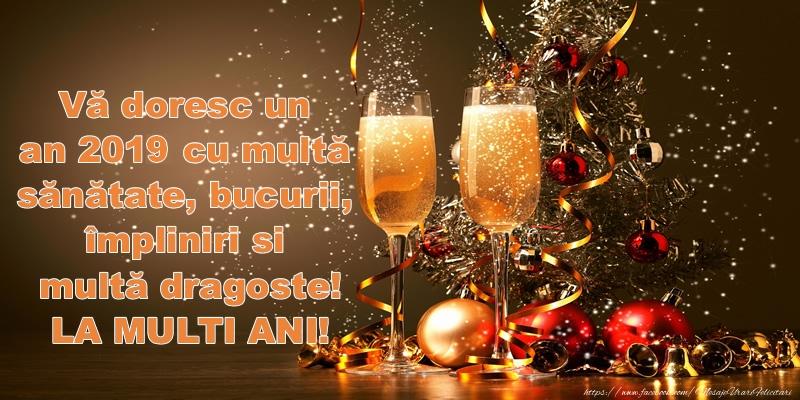 Anul Nou Vă doresc un an 2017 cu multă sănătate, bucurii, împliniri si multă dragoste! La multi ani!