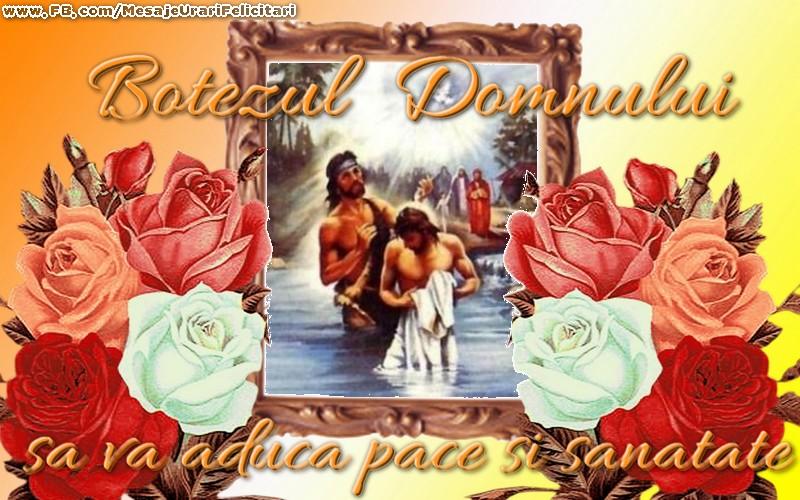 Botezul Domnului sa va aduca pace si sanatate!