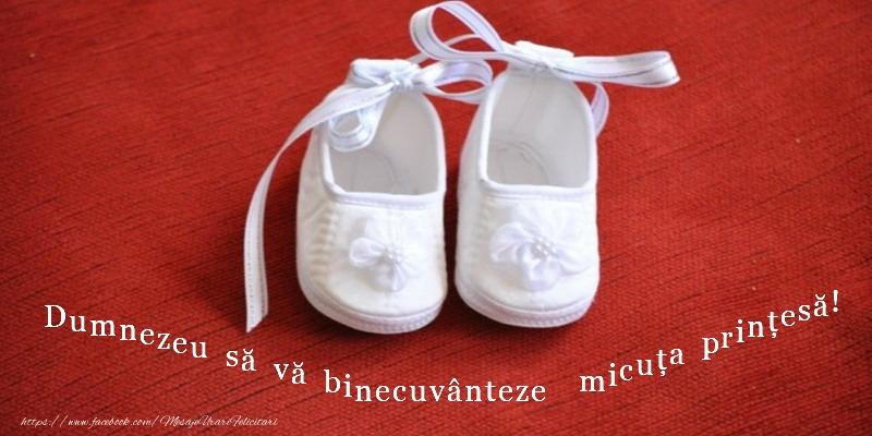 Felicitari de Botez - Dumnezeu sa va binecuvanteze noul nascut