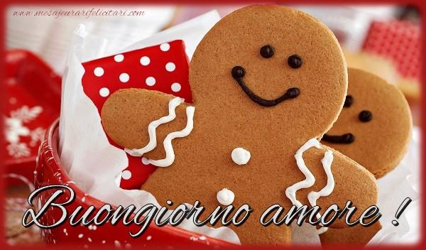 Felicitari de buna dimineata in Italiana - Buongiorno amore