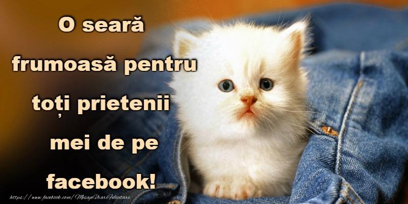 Felicitari de buna seara - Buna seara prieteni!