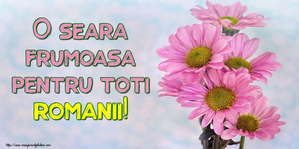 Felicitari de buna seara - O seara frumoasa pentru toti romanii! - mesajeurarifelicitari.com