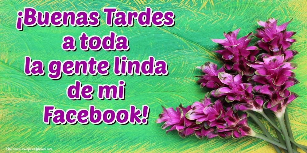 Felicitari de buna seara in Spaniola - ¡Buenas Tardes a toda la gente linda de mi Facebook!