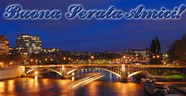 Felicitari de buna seara in Italiana - Buona Serata Amici!
