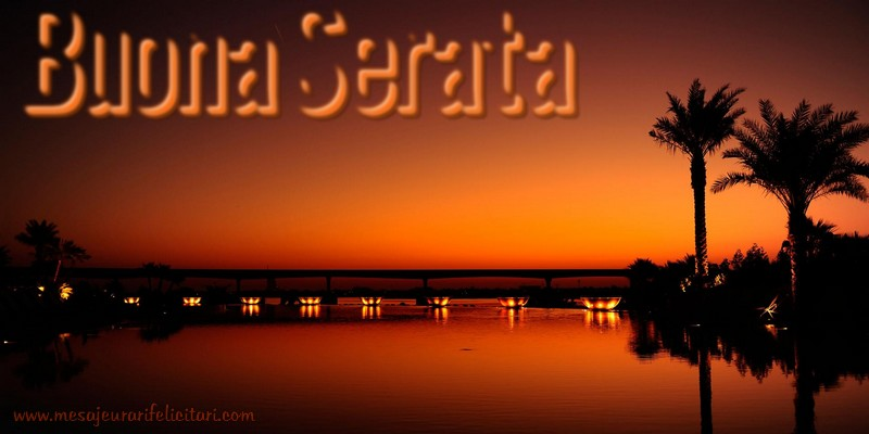 Felicitari de buna seara in Italiana - Buona Serata