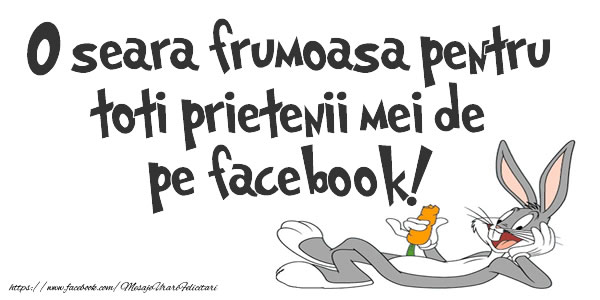 Buna seara O seara frumoasa pentru toti prietenii mei de pe facebook!