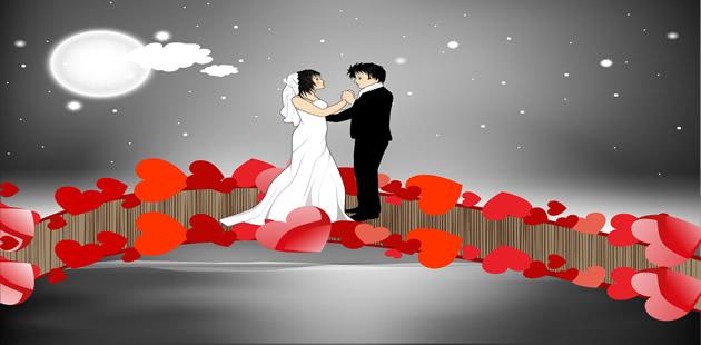 Casatorie: Mesaje şi urări, felicitări, video şi felicitări muzicale şi animate