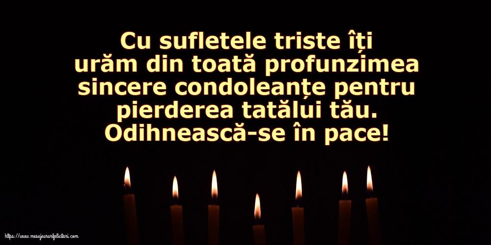 15 mesaje de condoleanțe pe care să le transmiți familiei răposatului