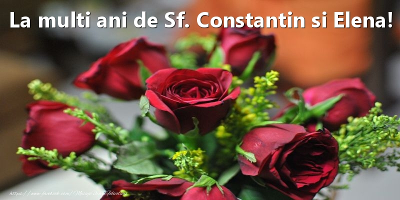Top 10 felicitari de Sfintii Constantin si Elena