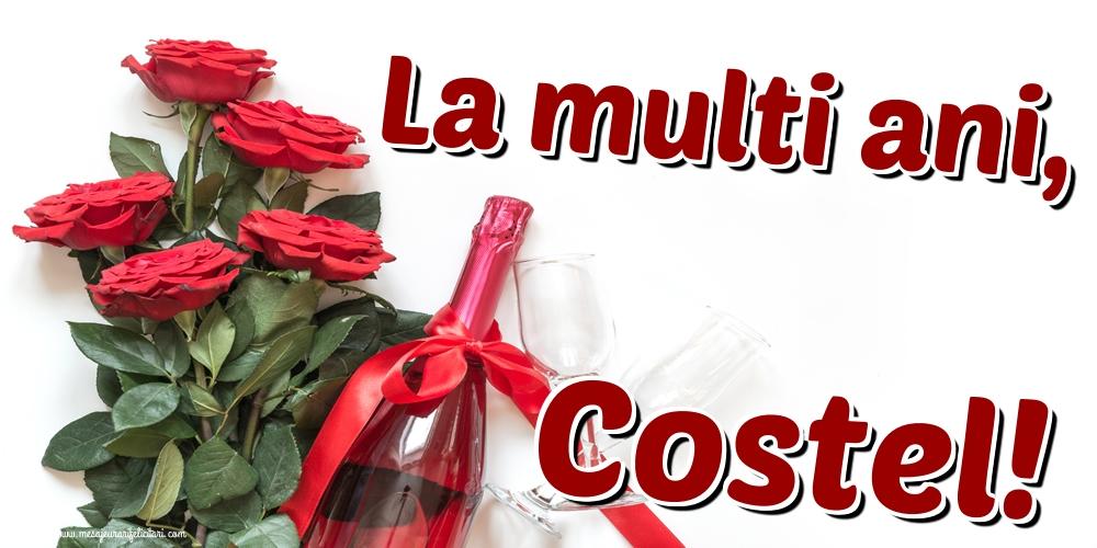 Felicitari de Sfintii Constantin si Elena - La multi ani, Costel!