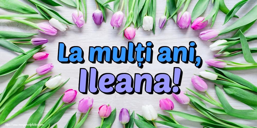 Felicitari de Sfintii Constantin si Elena - La mulți ani, Ileana!