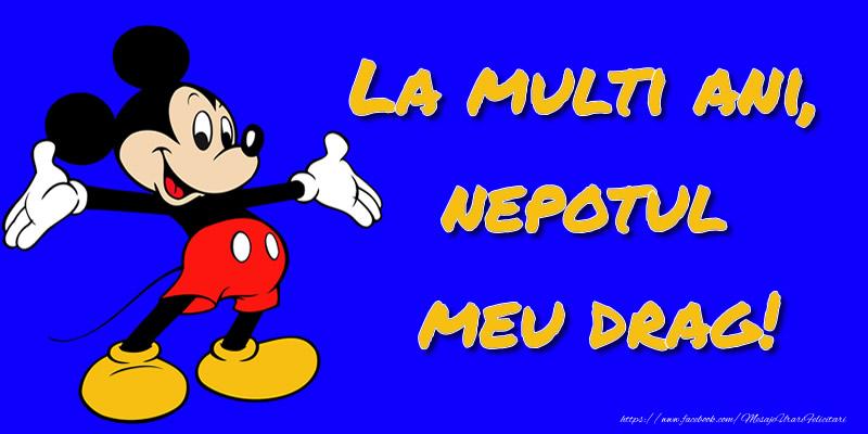 La multi ani, nepotul meu drag! - Mickey Mouse