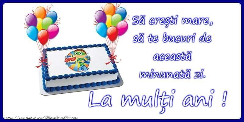 Felicitari pentru copii - La multi ani!