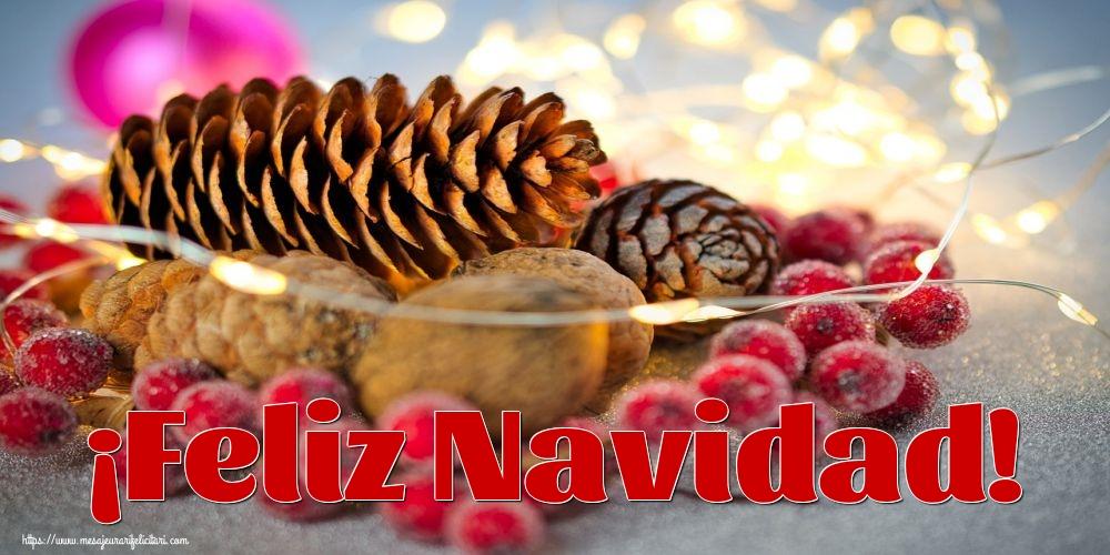 Felicitari de Craciun in Spaniola - ¡Feliz Navidad!