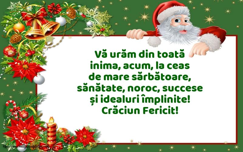 Felicitari de Craciun - Crăciun Fericit! - mesajeurarifelicitari.com