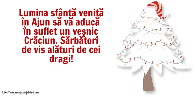 Felicitari de Craciun cu mesaje - Sărbători de vis alături de cei dragi!