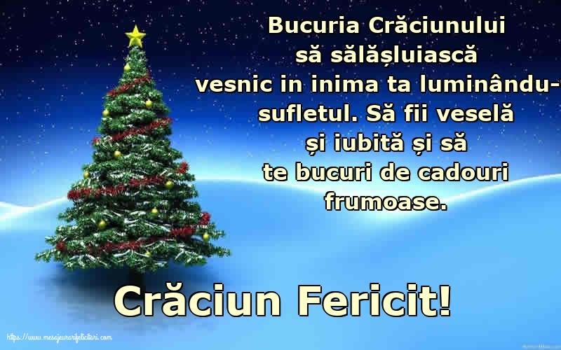 Felicitari de Craciun cu mesaje - Crăciun Fericit!