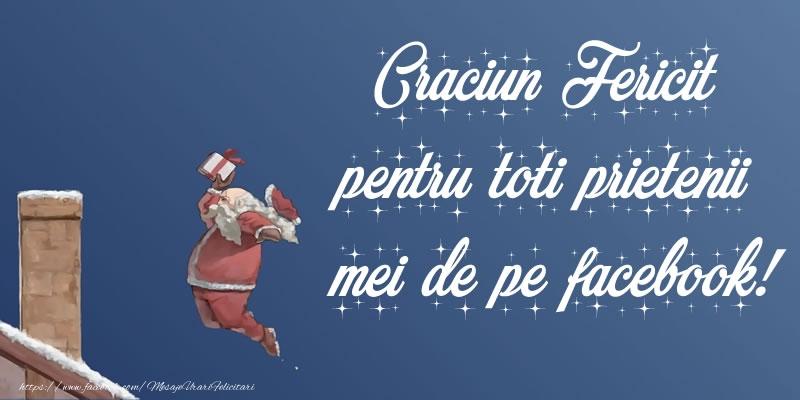 Craciun Fericit pentru toti prietenii mei de pe facebook!
