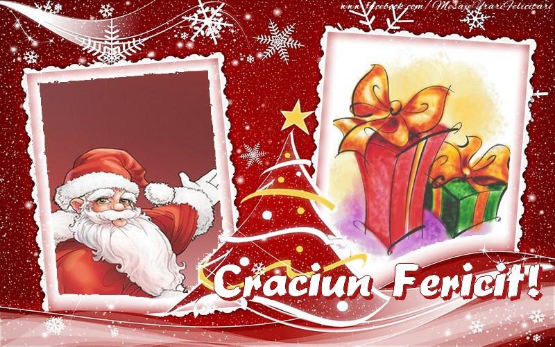 Felicitari de Craciun cu Mos Craciun - Craciun Fericit!