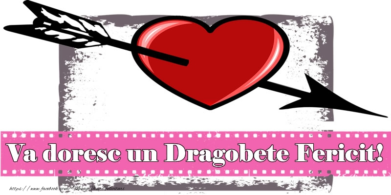 Cele mai apreciate felicitari de Dragobete - Va doresc un Dragobete Fericit!