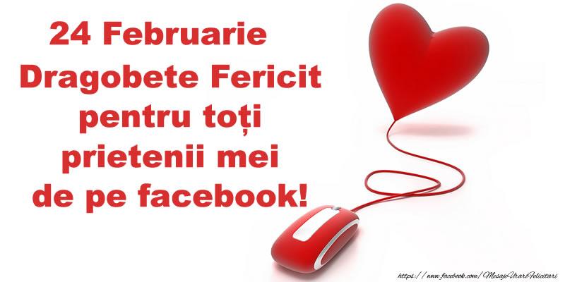 Dragobete 24 Februarie Dragobete Fericit pentru toți prietenii mei de pe facebook!