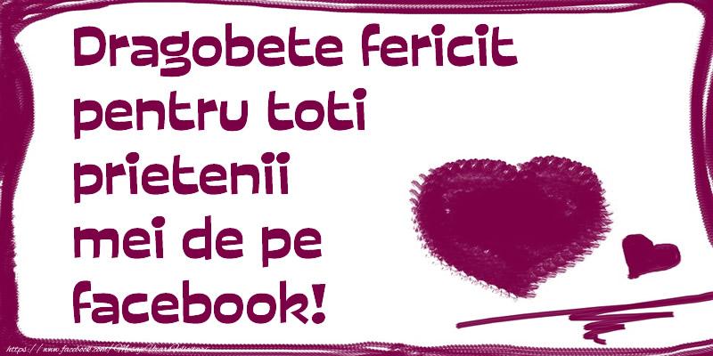 Cele mai apreciate felicitari de Dragobete - Dragobete fericit pentru toti prietenii mei de pe facebook!