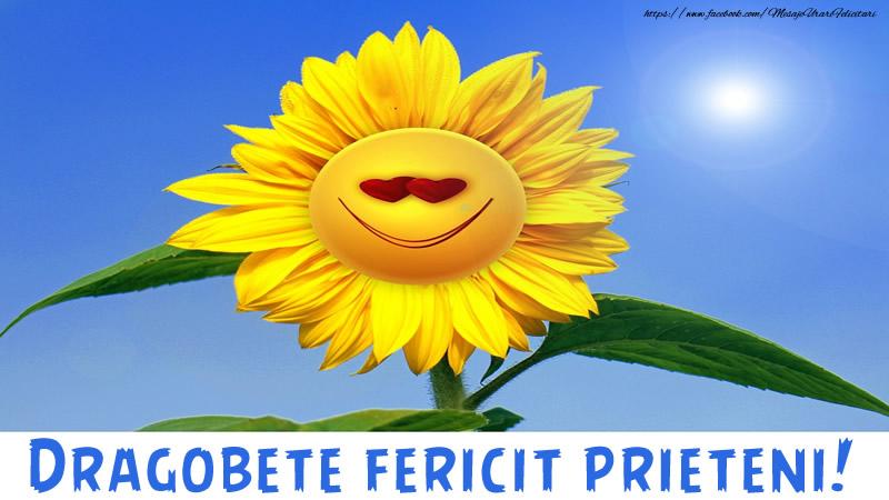 Felicitari de Dragobete - Dragobete fericit prieteni!