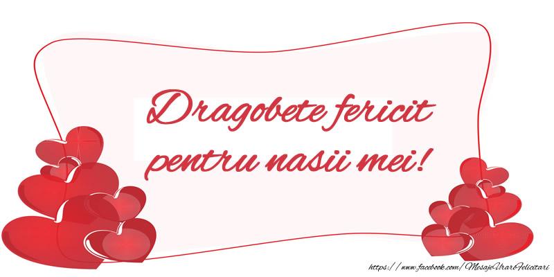 Felicitari de Dragobete - Dragobete fericit pentru nasii mei! - mesajeurarifelicitari.com