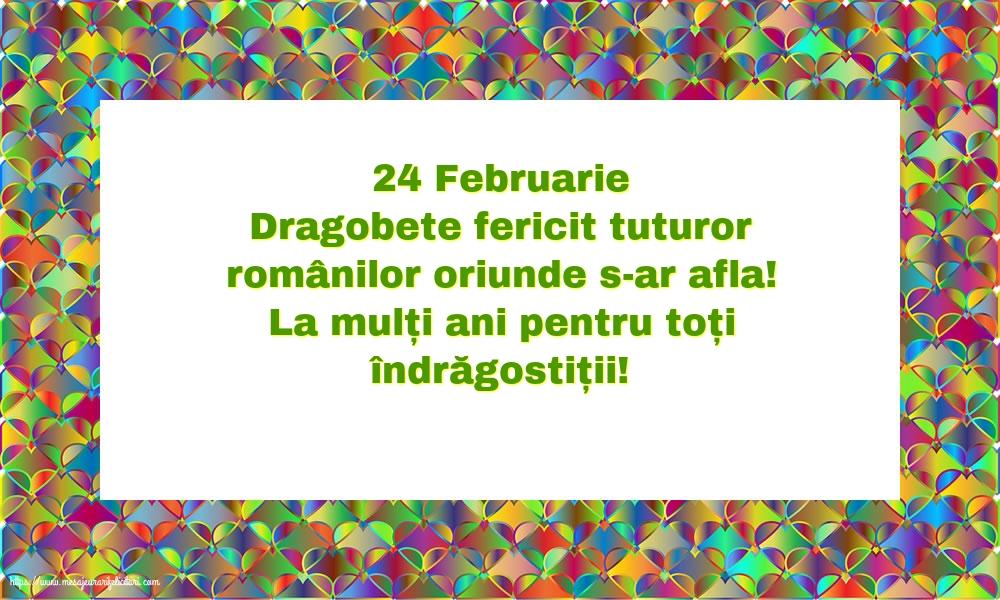 Cele mai apreciate felicitari de Dragobete - 24 Februarie