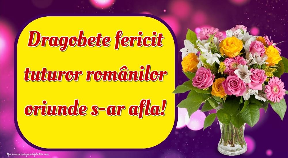 Felicitari de Dragobete - Dragobete fericit tuturor românilor oriunde s-ar afla!