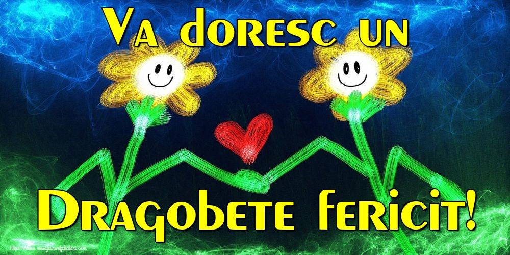 Felicitari de Dragobete - Va doresc un Dragobete fericit!