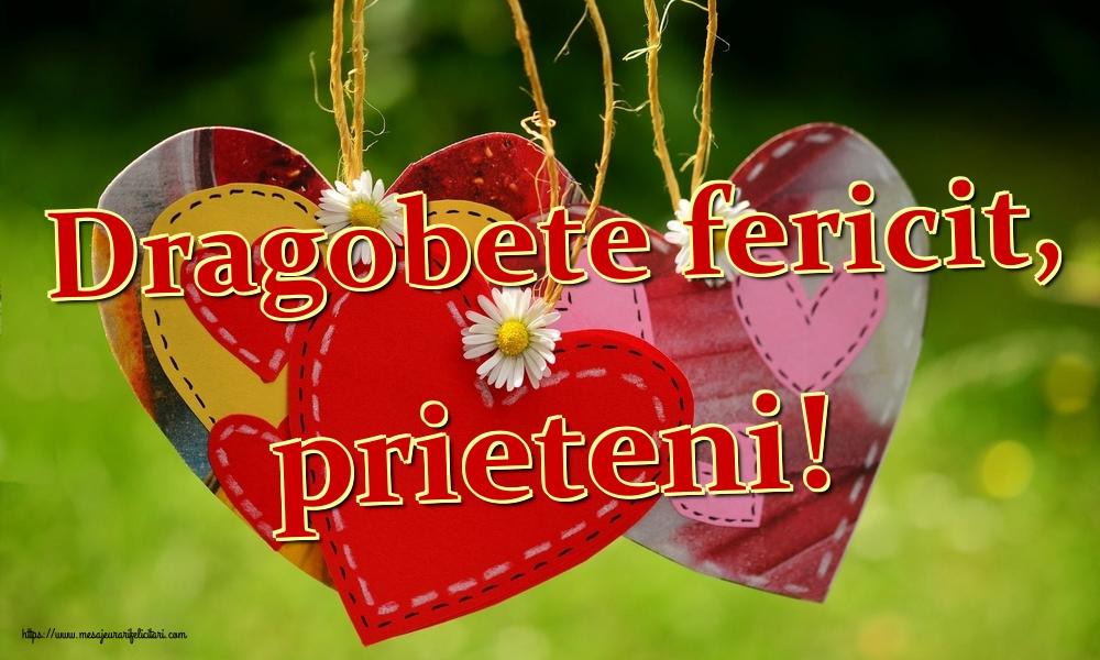Felicitari de Dragobete - Dragobete fericit, prieteni!