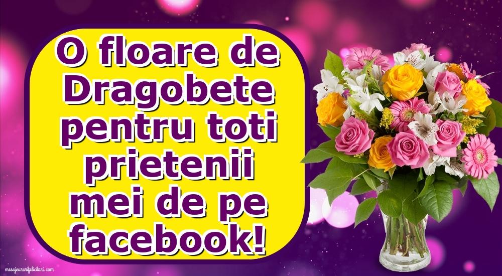 Cele mai apreciate felicitari de Dragobete - O floare de Dragobete